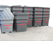 Heavy Duty Offal Bins 1000L-1340L-1400L- rendering bio products